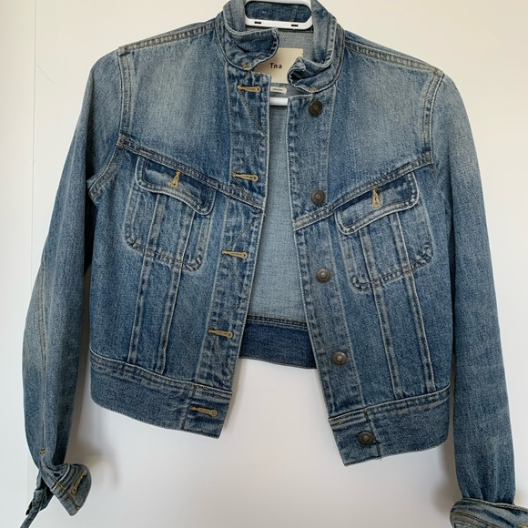 Aritzia TNA Denim Jacket size XS